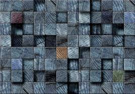 wood blocks texture dark grey wall paper mural buy at europosters