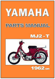 yamaha parts manual mj2t mj2 t mj2 t 1962 1963 1964 1965 1966