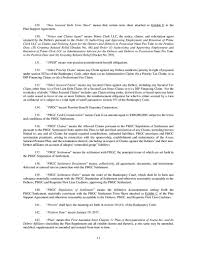 Notice Of Intent To Lien Letter by Exhibit101plansupportagr