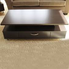 Modern White High Gloss Square Coffee Table With Storage High - Tables modern design