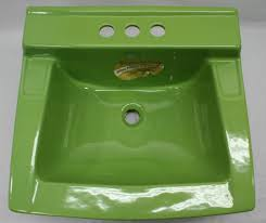 colorful vintage bathroom sinks from king of thrones retro