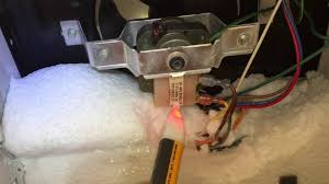 refrigerator fan not working warm amana refrigerator no defrost freezer fan not running voltage