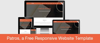 free download patros a free html5 css3 responsive website template