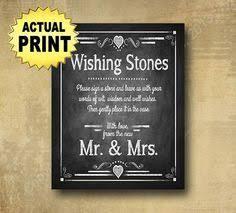 wedding wishing stones wedding power bar phone charging station sign chalkboard signage
