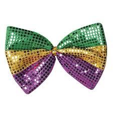 mardi gras apparel jumbo mardi gras glitz n gleam bow tie mardi gras apparel for sale