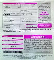formato de pago de tenencia en chispas 2015 requisitos para renovar tarjeta de circulación ciudadanos en red