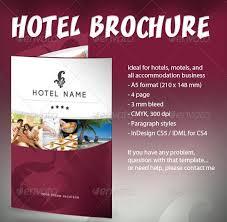 hotel brochure design templates 10 hotel brochure design templates wakaboom