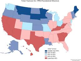 2000 Election Map Maps Of National Politics