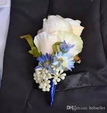 groom s boutonniere wedding decoraitve boutonnieres artificial