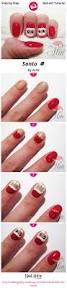 best 25 santa nails ideas on pinterest xmas nails christmas
