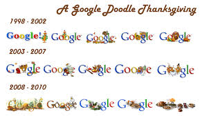 s thanksgiving logos a doodle history