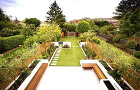 garden design ideas long thin the garden inspirations