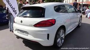 volkswagen scirocco 2016 vw scirocco r line youtube