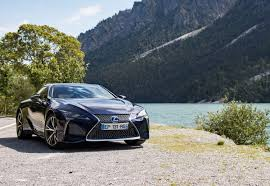 lexus dark blue lexus lc500h review driving through the alps with hybrid power