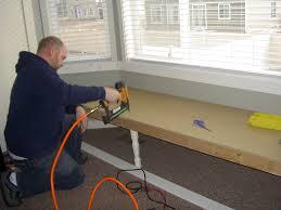 how to make a window bench cushion diy 5 minute window seat