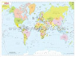 Thailand On World Map by Customized World Maps