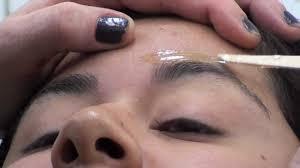 eyebrow waxing and nail salons near me eyebrow wax wax stuck to the eyelash must see watch to learn what