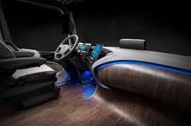 chevy silverado interior lights autonomous mercedes benz future truck 2025 previews the future of