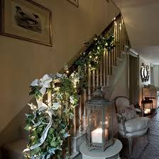 Elegant Christmas Decor Uk by Christmas Hallway With Ivy Garland Christmas Hallway Garlands