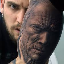 awesome realistic portrait tattoo on arm best tattoo ideas gallery