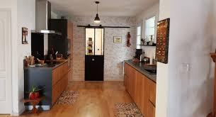 cuisiniste royan avant apres rénovation de la cuisine et agrandissement sur le