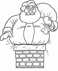 santa claus coloring pages the sun flower pages