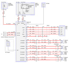 wiring diagram 2002 ford escape speaker wire radio throughout within