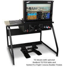 Flight Sim Desk Redbird Td Table Mounted Simulators
