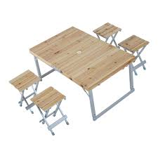 Kidkraft Outdoor Picnic Table by Aluminum Roll Up Table Folding Camping Outdoor Indoor Picnic Heavy