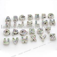 metal bracelet charms images 54 alphabet beads for bracelets silver alphabet beads for jpg