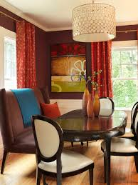 Curtains With Red Fantastic Red Dining Room Curtains With Red Dining Room Curtains