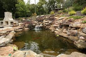 koi pond and waterfall installation chesterfield mo pond market