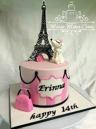 eiffel tower cake paris theme baby shower annacakes com baby