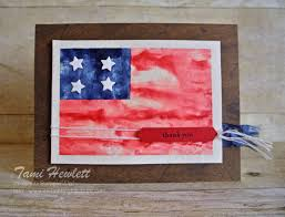 patriotic cards swimming in sts