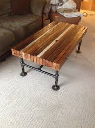 Seagrass Bench Coffee Table Amazing Wood And Steel Coffee Table Wrought Iron