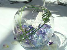 butterfly centerpieces wire butterfly fish bowl similar to table decs baptism