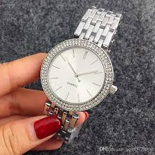 silver bracelet watches images Hot sale top famous brand luxury simple style girl full diamond jpg