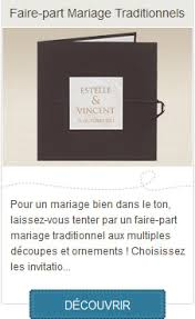faire part mariage traditionnel faire part mariage faire part en ligne planet creation