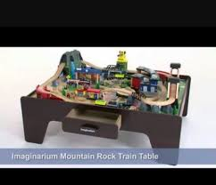 imaginarium express mountain rock train table cool universe of imagination mountain rock train table contemporary