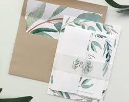 Wedding Program Paper Kits Wedding Invitation Kits Etsy Au