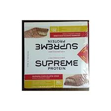 amazon com supreme protein supreme protein bar german chocolate