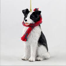 Home Decor Figurines Border Collie Gifts Merchandise Figurines Decor Collectibles Items