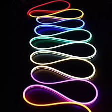 programmable led light strips dc24v 65 feet flexible led neon tube light waterproof ip67 tm1812