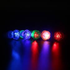 led light up rings rose flower finger light colorful led light up rings party gadgets