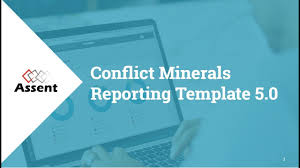 conflict minerals reporting template webinar conflict minerals reporting template 5 0
