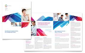 software solutions brochure template word u0026 publisher