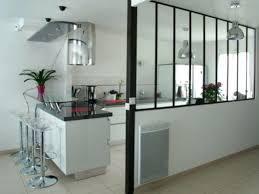 cloison cuisine salon verriere separation cuisine maison design cloison vitree cuisine