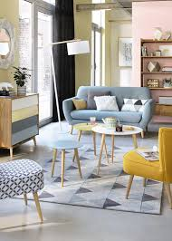 pastel living room inspiration with scandinavian style maisons
