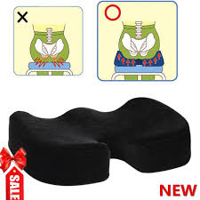 Desk Chair Cushion Gel Seat Cushion For Wheelchair Office Chair Orthopedic Pad With