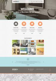 interior design agency joomla template 46815